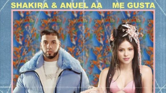 Anuel AA y Shakira. Foto: Difusión.