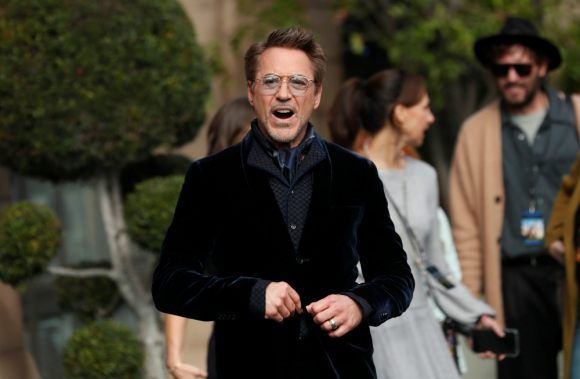 "Robert Downey Jr. en la premiere de ""Dolittle"". Foto: Reuters"
