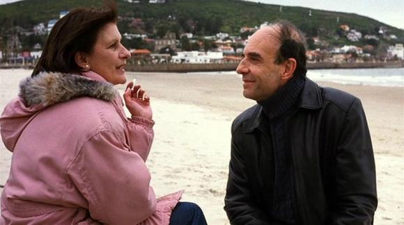 """Mirella Pascual y Jorge Bolani en la película """"Whisky"""". Foto: Difusión"""
