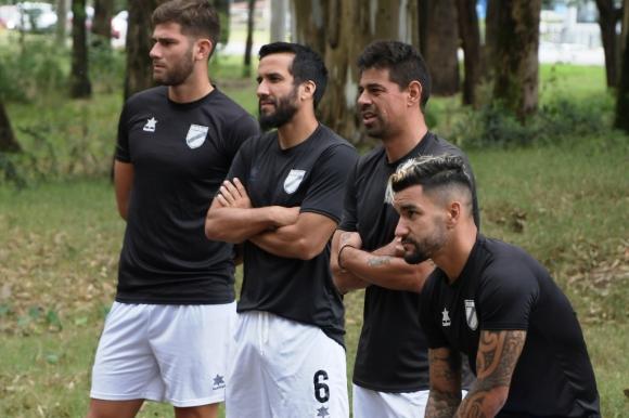 Yeferson Quintana, Mauricio Victorino, Carlos Grossmuller y Matías Jones