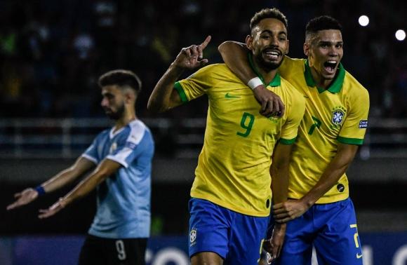 Uruguay vs. Brasil - Torneo Preolímpico Sub 23