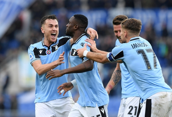 Lazio atraviesa una gran temporada encabezada por los goles de Ciro Immobile. Foto: Reuters.