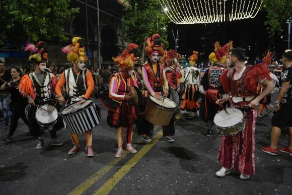 Metele que son Pasteles en el Desfile Inaugural de Carnaval. Foto: Marcelo Bonjour