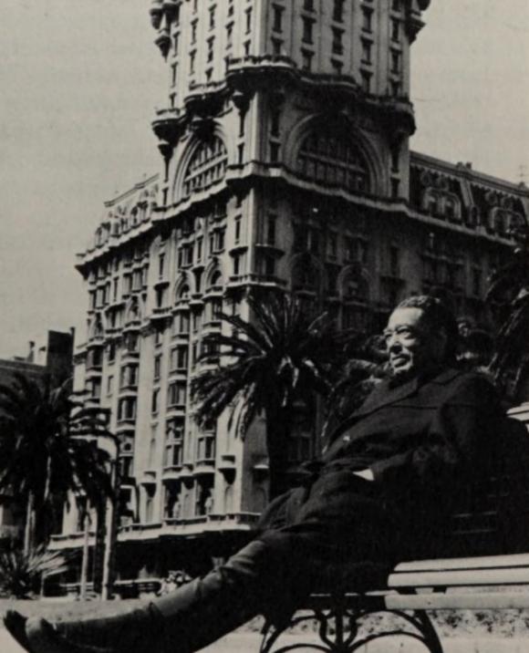 Duke Ellington en la Plaza Independencia. Foto: The World Of Duke Ellington.