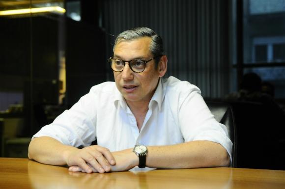 """Carlos Encisco dijo que """"hay cosas para mejorar y consolidar"""". Foto: Darwin Borrelli"""
