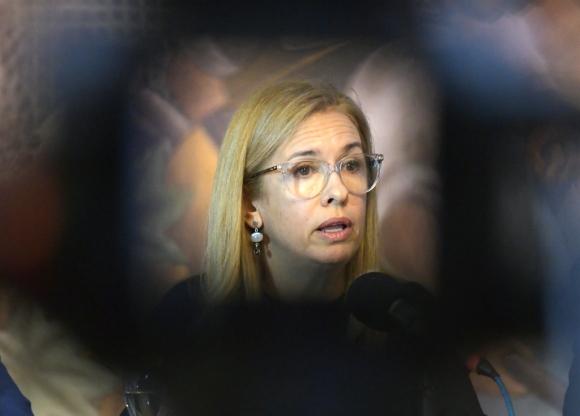 Marta Jara, presidenta de Ancap. Foto: Leonardo Mainé