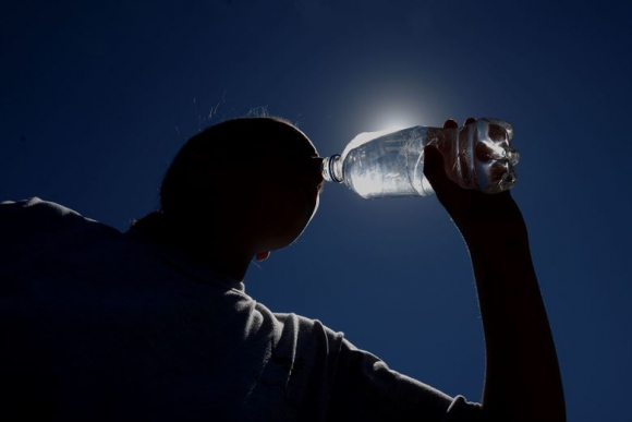 Ola de calor. Foto: Archivo El País
