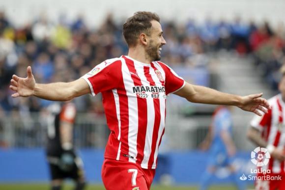 Cristhian Stuani es una máquina de convertir goles en Girona