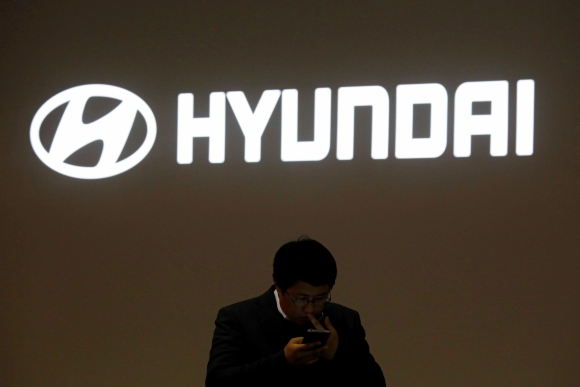 Logo de Hyundai. Foto: Reuters.