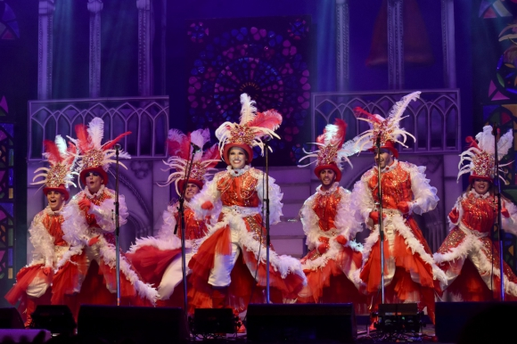 Zíngaros en su primera presentación en el Teatro de Verano. Foto. José Arisi -  Carnaval en Fotos
