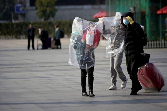 Coronavirus en Shanghai. Foto: Reuters.