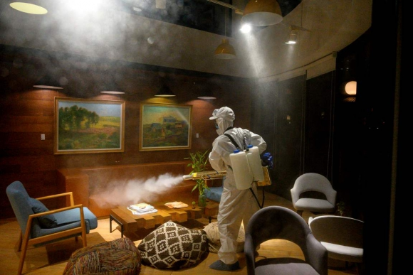 Coronavirus en China. Foto: AFP.