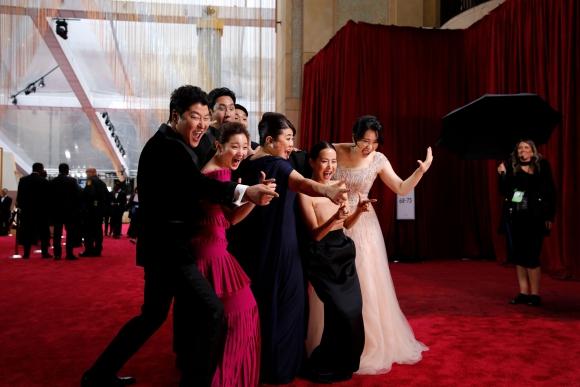 Actores de Paradise. Foto: Reuters