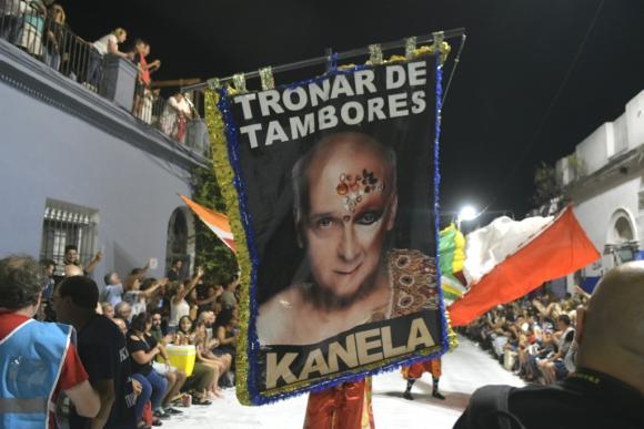 Desfile de Llamadas en los barrios Sur y Palermo. Foto: Marcelo Bonjour