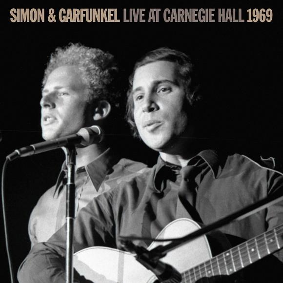 "Portada del disco ""Live at Carniege Hall 1969"" de Simon & Garfunkel. Foto: Difusión"