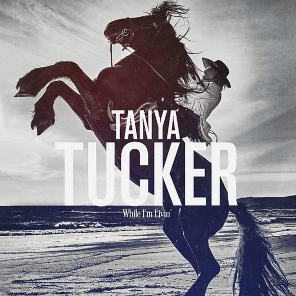 """Portada del disco """"While I'm Livin'"""" de la cantante Tanya Tucker. Foto: Difusión"""