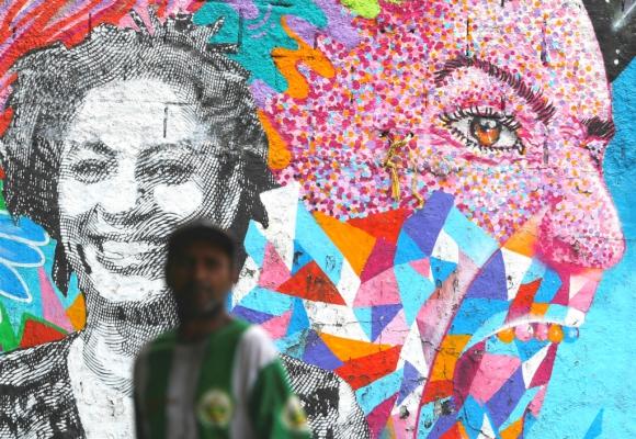 Mural en homenaje a Marielle Franco. Foto: Reuters
