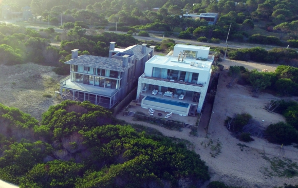 En 2016 comenzó a diseñar una fastuosa casa con su entonces novia, Yanina Screpante, en José Ignacio. Foto: Ricardo Figueredo