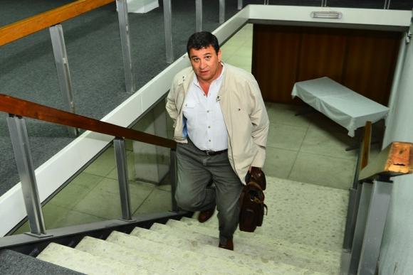Yamandú Costa, presidente de Juventud de Las Piedras. Foto: Gerardo Pérez.