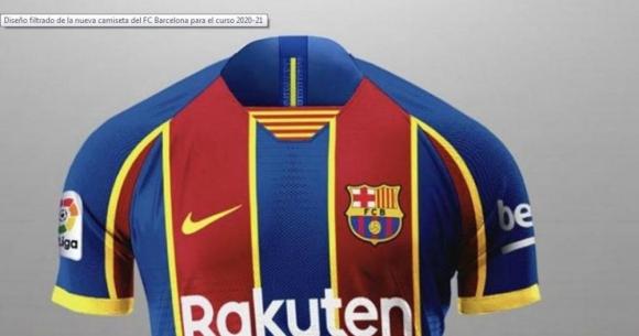 La futura camiseta del FC Barcelona