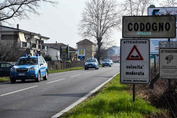 Italia coronavirus. Foto: AFP