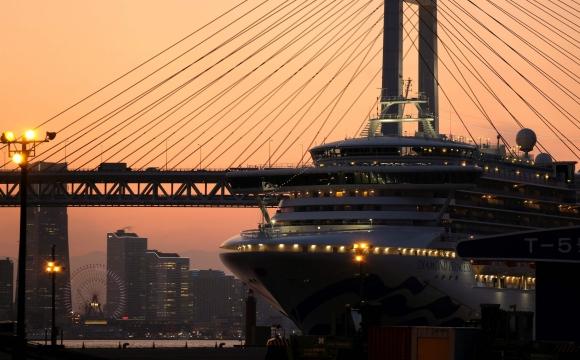 """La gestión de la crisis del crucero """"Diamond Princess"""" por parte del gobierno japonés fue criticado. Foto: AFP."""