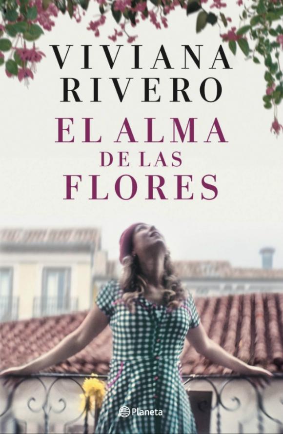 """Portada del libro """"El alma de las flores"""" de Viviana Rivero. Foto: Difusión"""