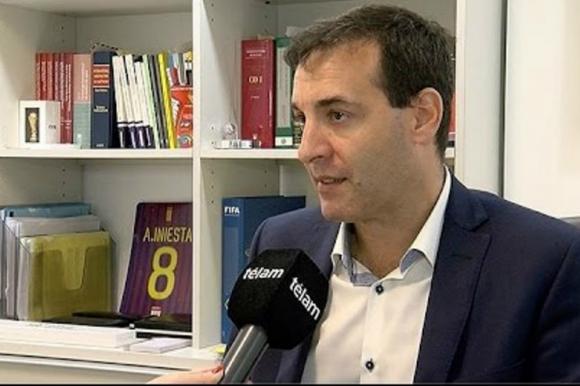 Ariel Reck, abogado especialista en derecho deportivo