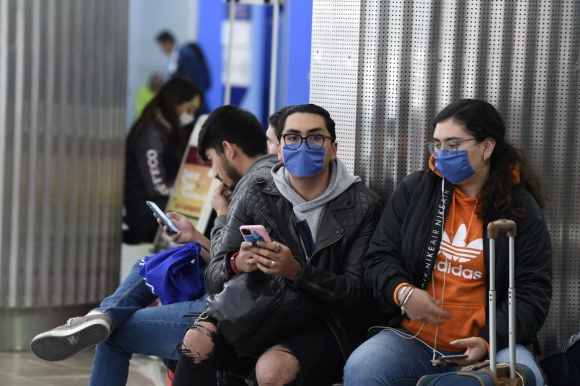 Coronavirus en México. Foto: AFP.