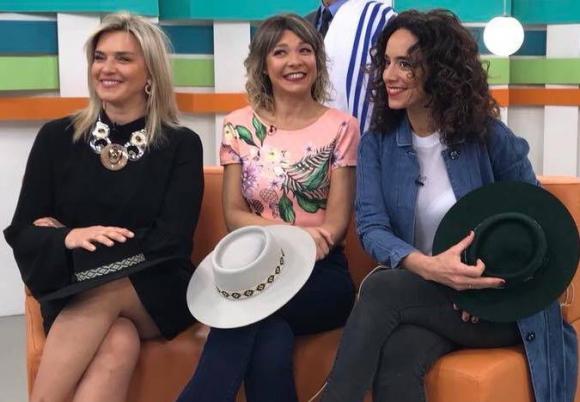 Sara Perrone, Karina Vignola y Emilia Díaz