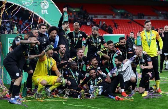 Manchester City campeón de la Copa de la Liga de Inglaterra