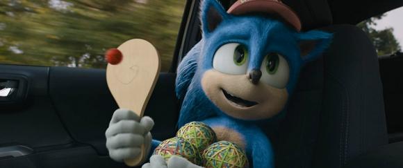 """Imagen de la película """"Sonic: la película"""": Foto: Difusión"""