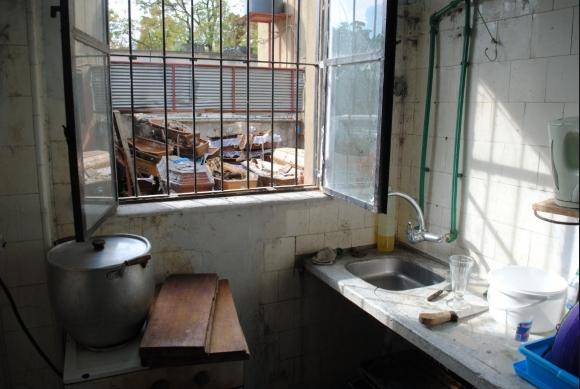 Cementerio del norte: los funcionarios denunciaron sus condiciones laborales y Adeom difundió fotos elocuentes. Foto: Adeom
