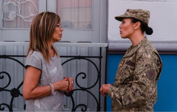 Carmen Tort y Lorena Cardozo cerro largo