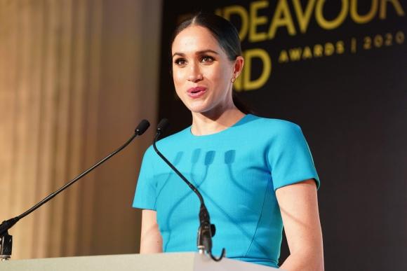Meghan Markle, duquesa de Sussex. Foto: AFP