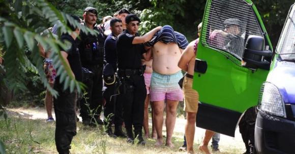 Rugbiers argentinos presos