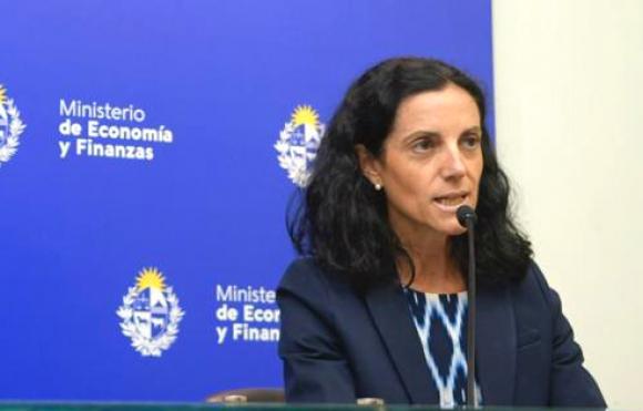 Azucena Arbeleche, ministra de Economía. Foto: Marcelo Bonjour