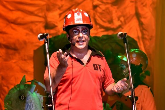 Leo Pacella de humoristas Los Choby's. Foto: José Arisi - Carnaval en Fotos