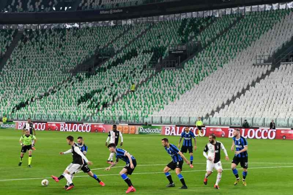Juventus-Inter a puertas cerradas