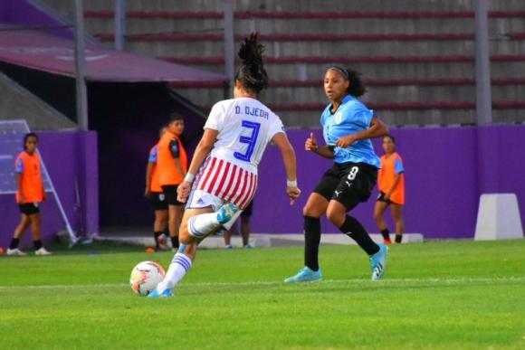 Sudamericano Sub 20 femenino - Uruguay vs. Paraguay. Foto: @ProgDeportesSL