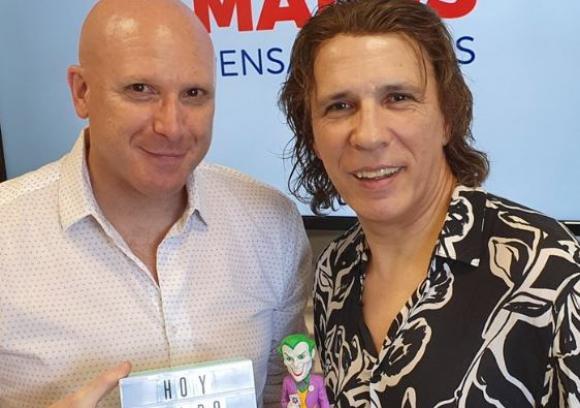 Orlando Petinatti y Aldo Martínez