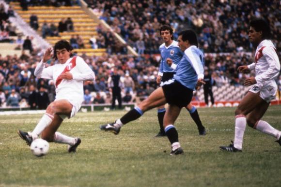 Ruben Sosa en el Uruguay Perú de 1989