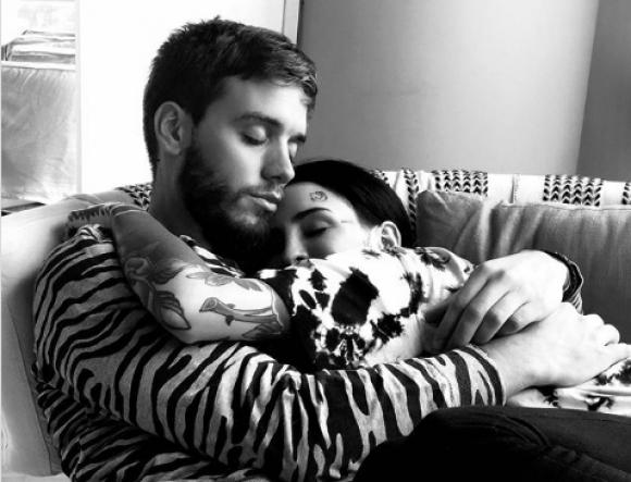 Cande Tinelli junto a su nuevo novio. Foto: Captura de Instragram.