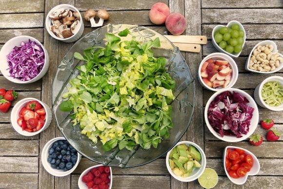 vegetales, ensalada, verdes Foto: PIxabay