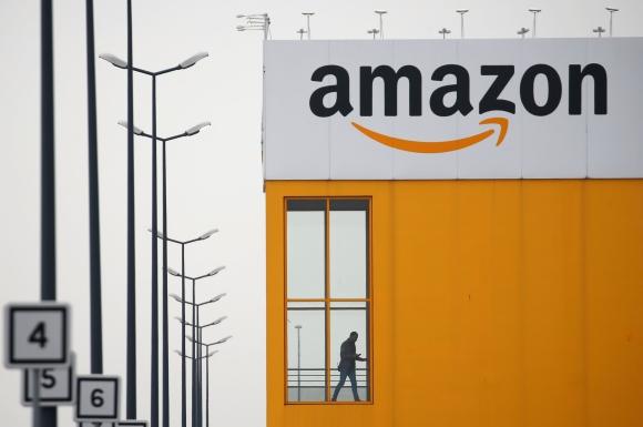 Centro logístico de Amazon en Francia. Foto: Reuters.