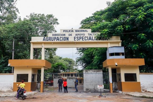 La prisión de la Agrupación Especializada de la Policia en Asunción, Paraguay.