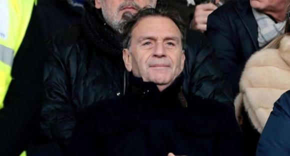Massimo Cellino, presidente del Brescia