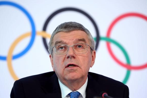 Thomas Bach, presidente del Comité Olímpico Internacional. Foto: AFP.