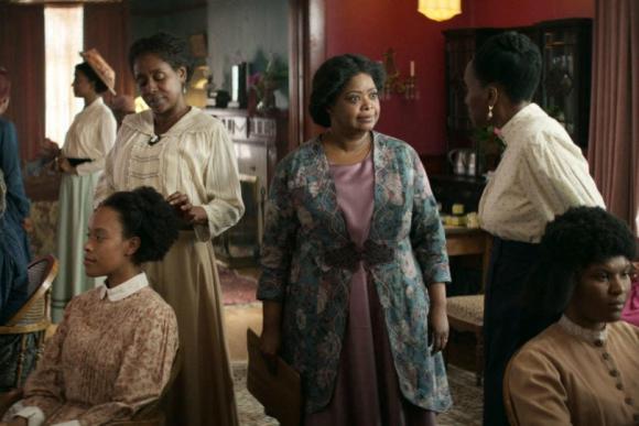 Octavia Spencer es Madam C.J. Walker en la serie de Netflix. Foto: Difusión