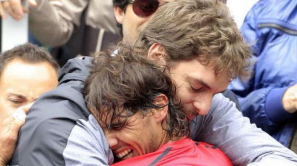 Pau Gasol y Rafael Nadal se unen en una gran cruzada contra el coronavirus